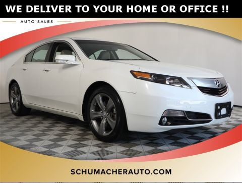 PRE-OWNED 2014 ACURA TL SH-AWD WITH NAVIGATION & AWD