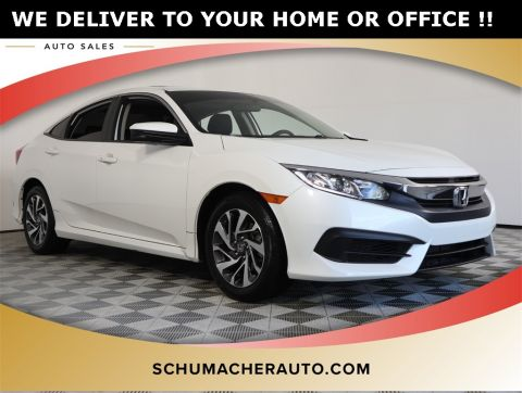 PRE-OWNED 2018 HONDA CIVIC EX FWD 4D SEDAN