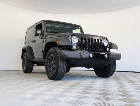 CERTIFIED PRE-OWNED 2016 JEEP WRANGLER WILLYS WHEELER 4WD