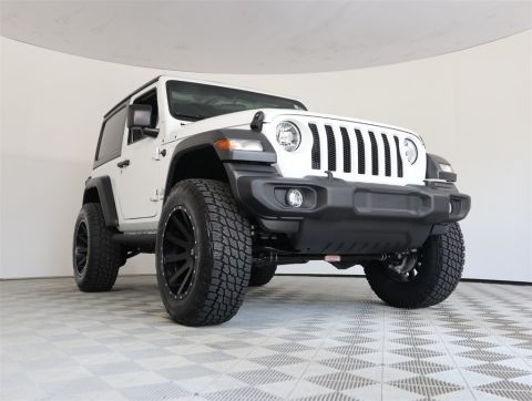 CERTIFIED PRE-OWNED 2019 JEEP WRANGLER SPORT 4WD