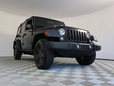 PRE-OWNED 2016 JEEP WRANGLER 4WD