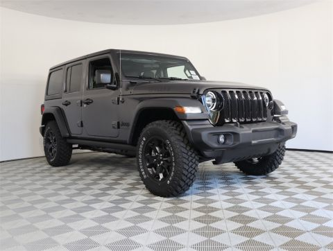 NEW 2020 JEEP WRANGLER UNLIMITED WILLYS 4X4