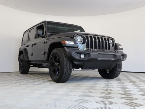 NEW 2019 JEEP WRANGLER UNLIMITED SPORT ALTITUDE 4X4