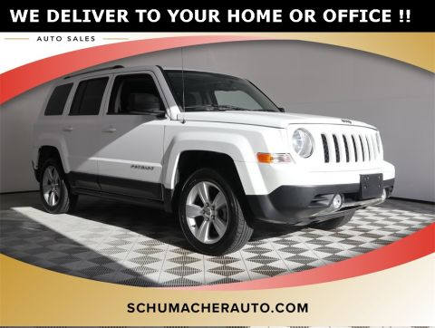 PRE-OWNED 2013 JEEP PATRIOT LIMITED 4WD