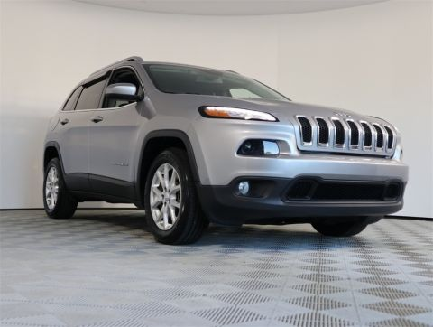 CERTIFIED PRE-OWNED 2018 JEEP CHEROKEE LATITUDE FWD 4D SPORT UTILITY