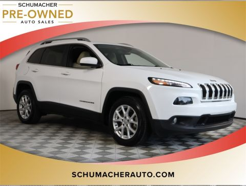 PRE-OWNED 2016 JEEP CHEROKEE LATITUDE FWD 4D SPORT UTILITY