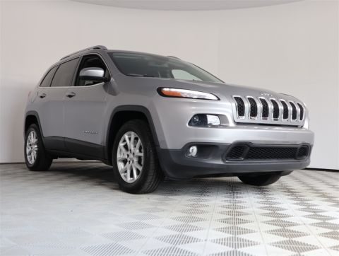 CERTIFIED PRE-OWNED 2016 JEEP CHEROKEE LATITUDE FWD 4D SPORT UTILITY