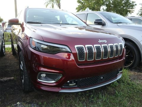 CERTIFIED PRE-OWNED 2019 JEEP CHEROKEE OVERLAND FWD 4D SPORT UTILITY