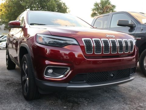 CERTIFIED PRE-OWNED 2019 JEEP CHEROKEE LIMITED 4WD