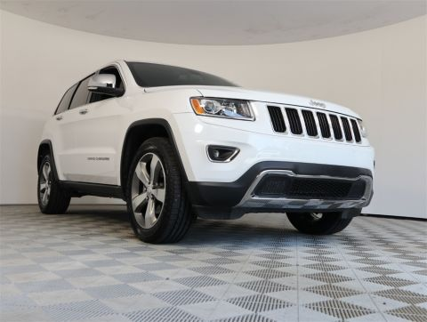 CERTIFIED PRE-OWNED 2016 JEEP GRAND CHEROKEE LIMITED RWD 4D SPORT UTILITY