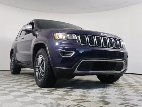PRE-OWNED 2017 JEEP GRAND CHEROKEE LIMITED RWD 4D SPORT UTILITY