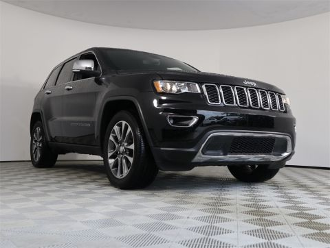 PRE-OWNED 2018 JEEP GRAND CHEROKEE LIMITED RWD 4D SPORT UTILITY