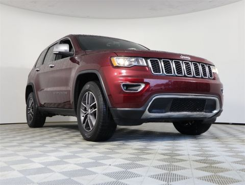 CERTIFIED PRE-OWNED 2018 JEEP GRAND CHEROKEE LIMITED 4WD