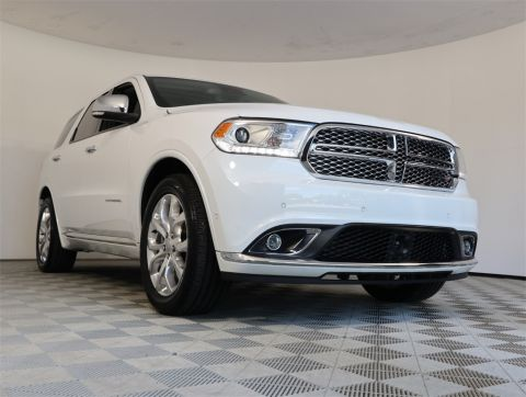 CERTIFIED PRE-OWNED 2018 DODGE DURANGO CITADEL WITH NAVIGATION