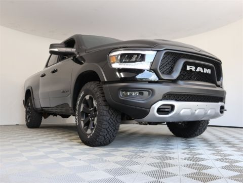 "NEW 2019 RAM 1500 REBEL QUAD CAB 4X4 6'4"" BOX"