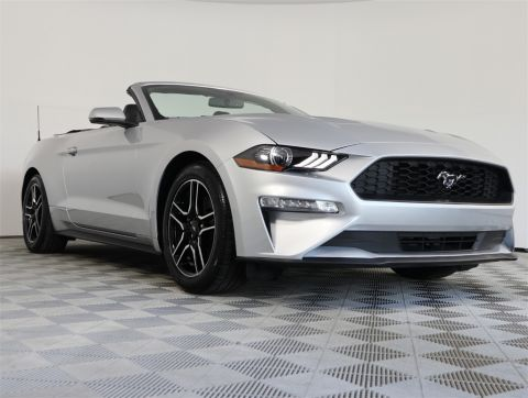PRE-OWNED 2018 FORD MUSTANG ECOBOOST RWD 2D CONVERTIBLE