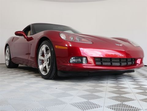 PRE-OWNED 2008 CHEVROLET CORVETTE BASE RWD 2D COUPE