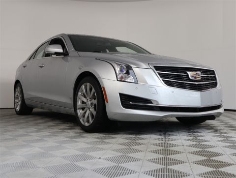PRE-OWNED 2018 CADILLAC ATS 2.0L TURBO LUXURY RWD 4D SEDAN