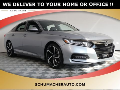 PRE-OWNED 2018 HONDA ACCORD SPORT FWD 4D SEDAN
