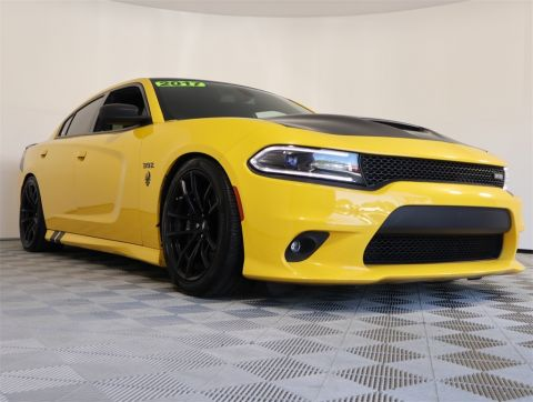 PRE-OWNED 2017 DODGE CHARGER R/T 392 RWD 4D SEDAN