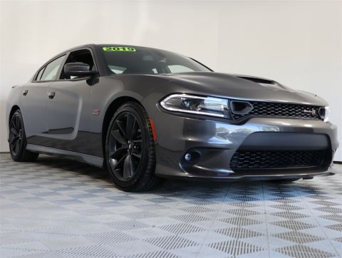 PRE-OWNED 2019 DODGE CHARGER R/T SCAT PACK RWD 4D SEDAN