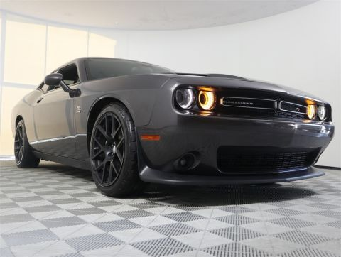 CERTIFIED PRE-OWNED 2015 DODGE CHALLENGER R/T SCAT PACK RWD 2D COUPE