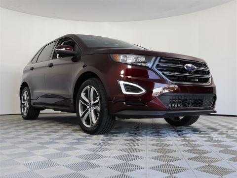 PRE-OWNED 2018 FORD EDGE SPORT AWD