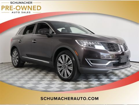 PRE-OWNED 2016 LINCOLN MKX BLACK LABEL WITH NAVIGATION & AWD
