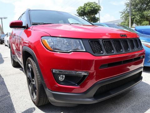 CERTIFIED PRE-OWNED 2019 JEEP COMPASS LATITUDE FWD 4D SPORT UTILITY