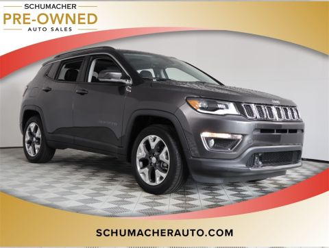 PRE-OWNED 2018 JEEP COMPASS LIMITED FWD 4D SPORT UTILITY