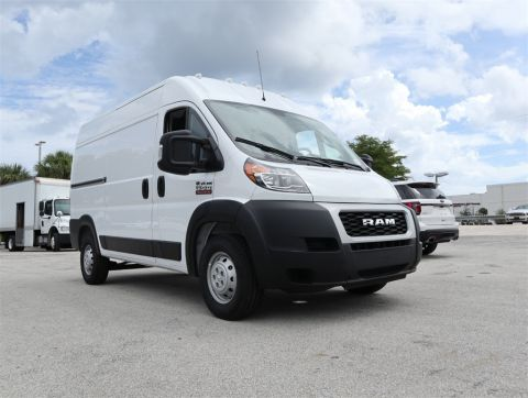 "NEW 2019 RAM PROMASTER 1500 CARGO VAN HIGH ROOF 136"" WB"