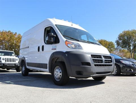 "NEW 2018 RAM PROMASTER 2500 CARGO VAN HIGH ROOF 136"" WB"