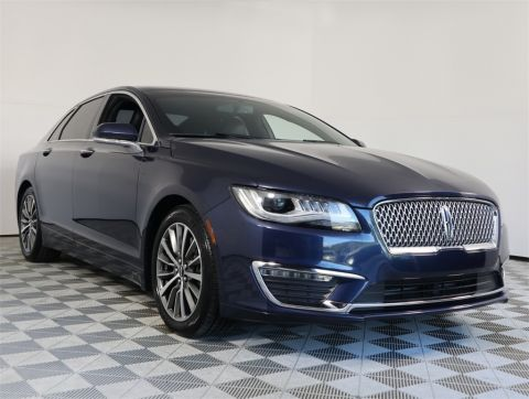 PRE-OWNED 2017 LINCOLN MKZ SELECT FWD 4D SEDAN