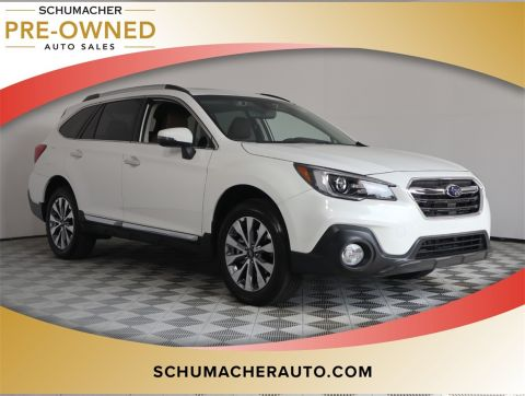 PRE-OWNED 2018 SUBARU OUTBACK 2.5I WITH NAVIGATION & AWD