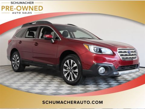 PRE-OWNED 2017 SUBARU OUTBACK 3.6R WITH NAVIGATION & AWD