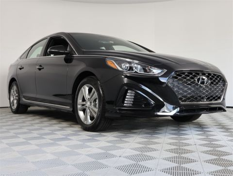 PRE-OWNED 2018 HYUNDAI SONATA SPORT+ FWD 4D SEDAN