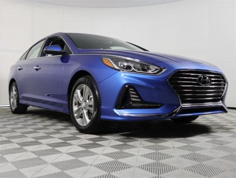 PRE-OWNED 2018 HYUNDAI SONATA SEL FWD 4D SEDAN
