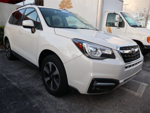 PRE-OWNED 2017 SUBARU FORESTER 2.5I LIMITED AWD