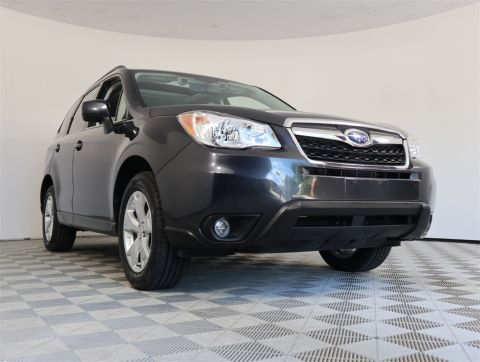 PRE-OWNED 2016 SUBARU FORESTER 2.5I LIMITED WITH NAVIGATION & AWD