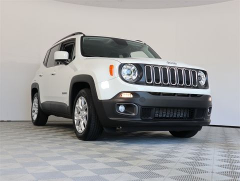 CERTIFIED PRE-OWNED 2018 JEEP RENEGADE LATITUDE FWD 4D SPORT UTILITY
