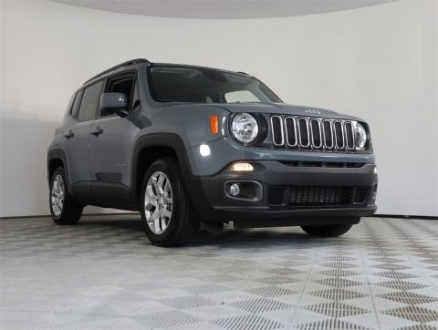 PRE-OWNED 2018 JEEP RENEGADE LATITUDE FWD 4D SPORT UTILITY