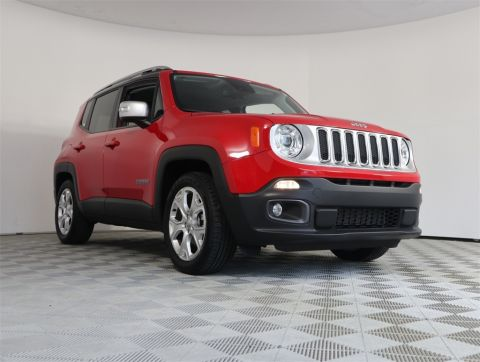 PRE-OWNED 2018 JEEP RENEGADE LIMITED FWD 4D SPORT UTILITY